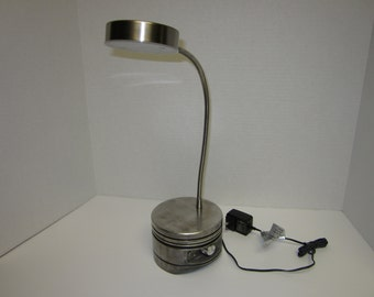 Aircraft Piston desk lamp