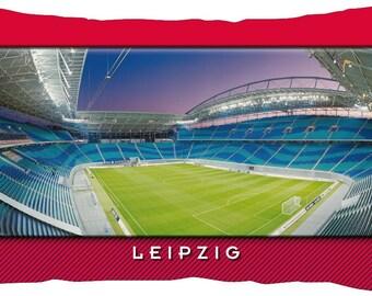 Leipzig Stadium cushion (50 cm x 30 cm)
