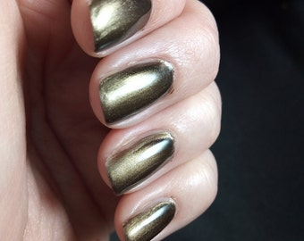 OLIVINE magnetic metallic nail polish CABOCHON collection