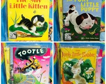 Little Golden Books -1973-Kimbies Diaper Ads-Set of five.