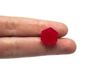 Hexagon mini x20, Hexagons earring supplies, Hexagon mini earring, Hexagon shapes clip, Hexagon bijoux lasercut wood plexiglas - SET 20 pz