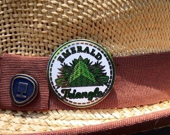 Emerald Triangle Pin