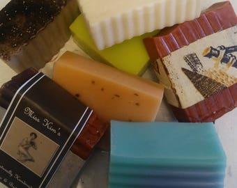 Buy any 3 soaps on site get one free  (Euphoria excluded)