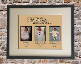 Birth Announcement Digital Collage