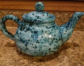 Ocean mist teapot