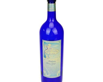 "Luna di Luna Chardonnay and Pinot Grigio 18"" Display Bottle Unopened"