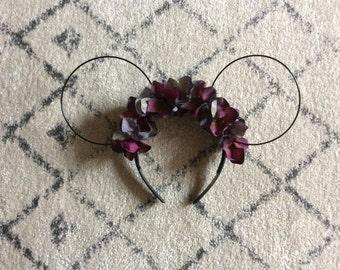 Disney inspired floral headband
