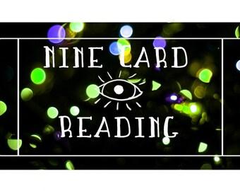 Nine Card Reading