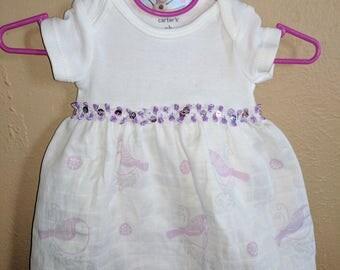 Preemie to Newborn Onesie Dress