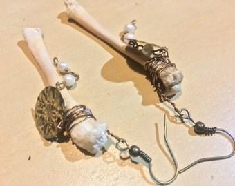 Cat Thighbone Earrings