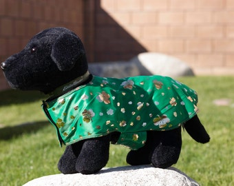St.Patricks Day dog jacket