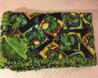 Teenage Mutant Ninja Turtle Fleece Blanket