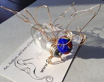 Lightbulb Butterfly Bug Ornament