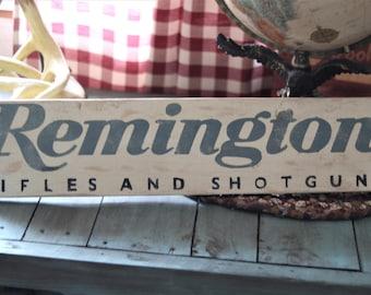 Remington Rustic Sign