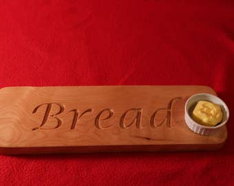Flame Birch bread board / cutting board