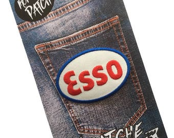 Esso Embroidered Iron On Patch