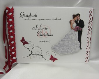 Guestbook for wedding No. G003