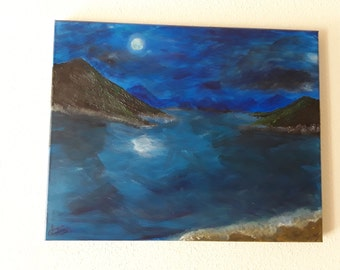 """Acrylic painting  """"Inspired"""""""