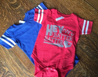 Baseball Bodysuit, Softball bodysuit, Baby Baseball