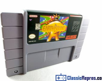 Earthbound - Super Nintendo Snes - Reproduction Game - US/NTSC Version - Fast US shipping