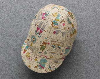 Children's circus classic cycling cap
