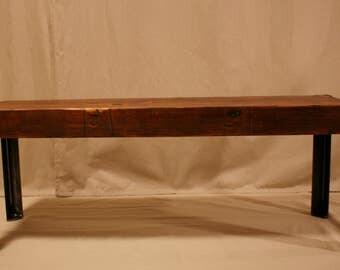 Douglas Fir reclaimed Bench