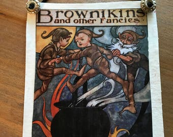 Vintage Book Covers - Brownikins