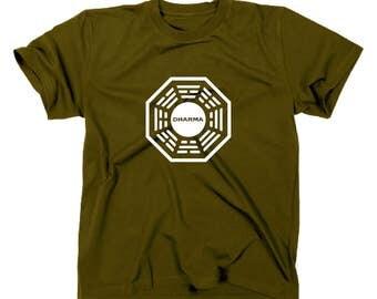 Lost T-Shirt logo Dharma initiative