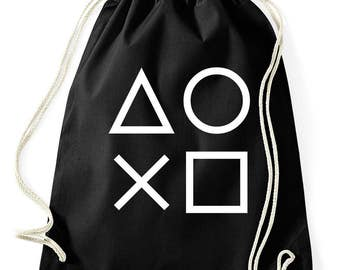 Gaming buttons PS4 XBox gym bags
