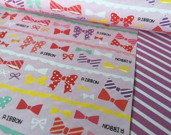 Lovely Bow style Chiyogami paper!