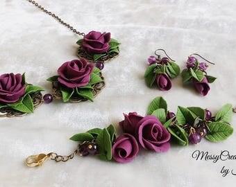 Violet Rose set
