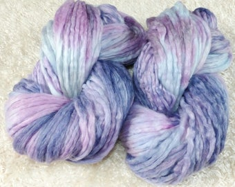 250 g Merino with linen combed tops hand dyed (roving pencil)