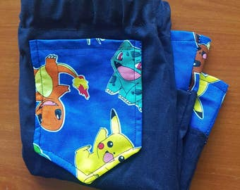 Pokemon long shorts/pants for baby (size 6 months old)