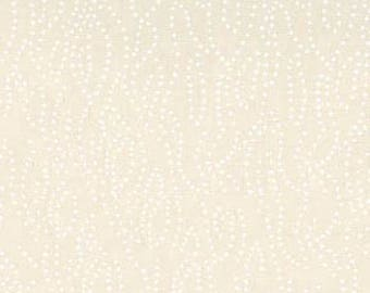 Tiny Dot in Tea Stain // Tone on Tone // Basics // Quilters Cotton