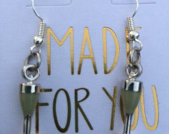 White wine or Champagne Glass Earrings