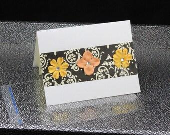 Flower Series Card