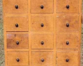 Antique Apothecary Cupboard 1800's