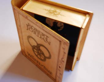 The Wheel of Time Decorated Wooden Box