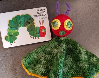 The Very Hungry Caterpillar Lovey Blanket