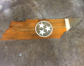 Tennessee wooden plaque