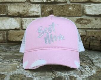 Best Mom Trucker Cap