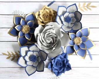 Large Paper Flower Backdrop, Backdrop Paper Flower, Photography BackDrop, Engagement Photo Prop, Bedroom Decor, Party Decor, Nursery Decor