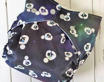 Handmade Breast Feeding Symbol Cloth Pocket Diaper with Insert