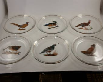 Set of six lynn Chase dessert plates