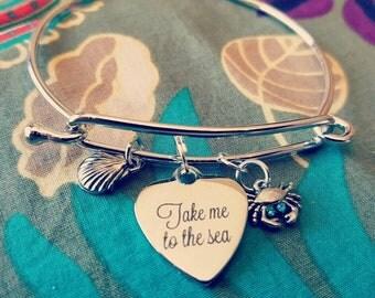 Take me to the Sea Ocean Bracelet Beach