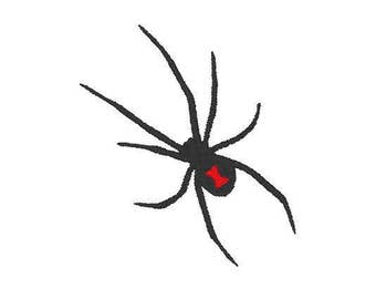 BLACK WIDOW Embroidery file Digital embroidery files Machine embroidery