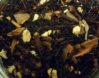 Tea, Black Chai, traditional indian masala chai, loose leaf tea, Perfect gift for tea lover/foodie