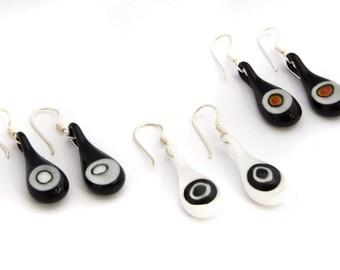 Millefiori earrings