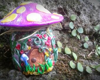 Super cute Tooth Fairy House Jar