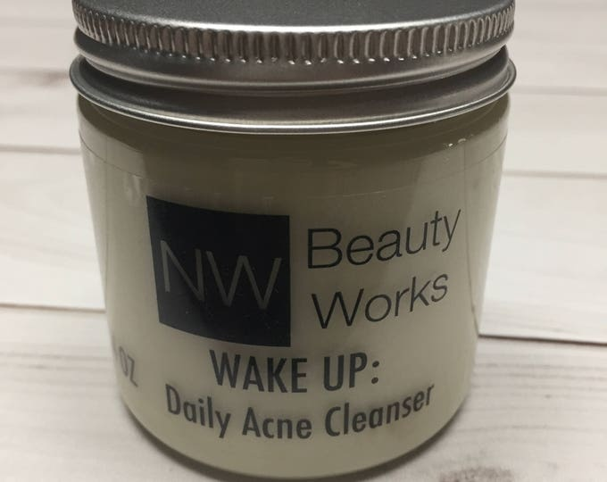 Featured listing image: Daily Acne Cleanser | Natural Fresh Lemon Scent | Daily Face Wash For Acne-Prone & Sensitive Skin | Great makeup remover! | 4 OZ